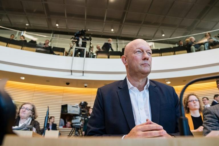 Bundesverfassungsgericht prüft Äußerung Merkels zu Kemmerich-Wahl in Thüringen (© 2021 AFP)