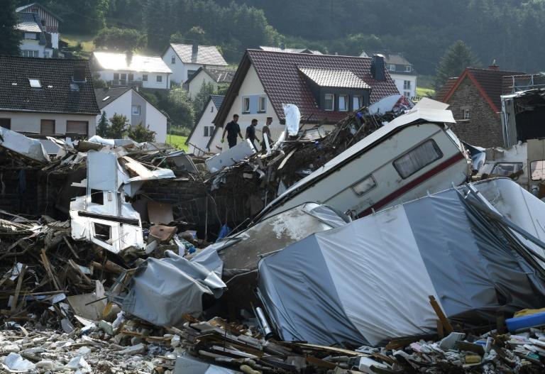 200 Millionen Euro Hochwasser-Hilfe des Bundes vom Kabinett beschlosse (© 2021 AFP)