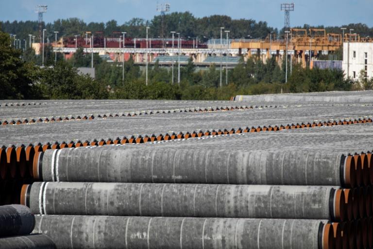 Berlin und Washington erzielen Einigung zu umstrittener Pipeline Nord Stream 2 (© 2021 AFP)