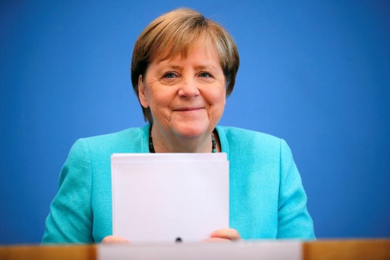 Merkel wirbt nachdrücklich für mehr Corona-Impfungen (© 2021 AFP)