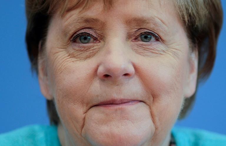 """Merkel schätzt an Frauen """"eine gewisse Sehnsucht nach Effizienz"""" (© 2021 AFP)"""