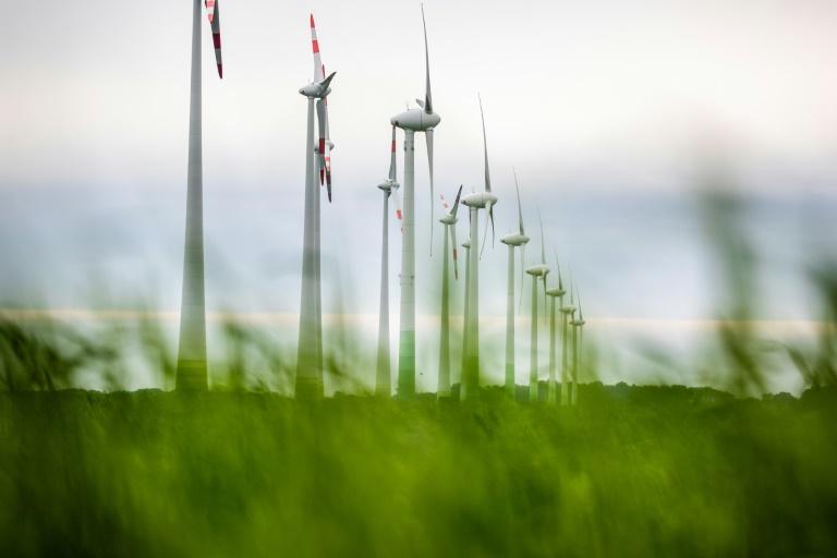 """Merkel räumt Versäumnisse bei Klimaschutz ein: """"Nicht ausreichend viel passiert"""" (© 2021 AFP)"""
