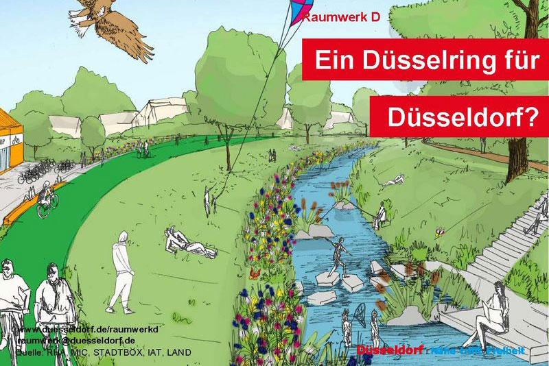 Raumwerk D: Beteiligung ausgewertet. (Foto: Stadt Düsseldorf)