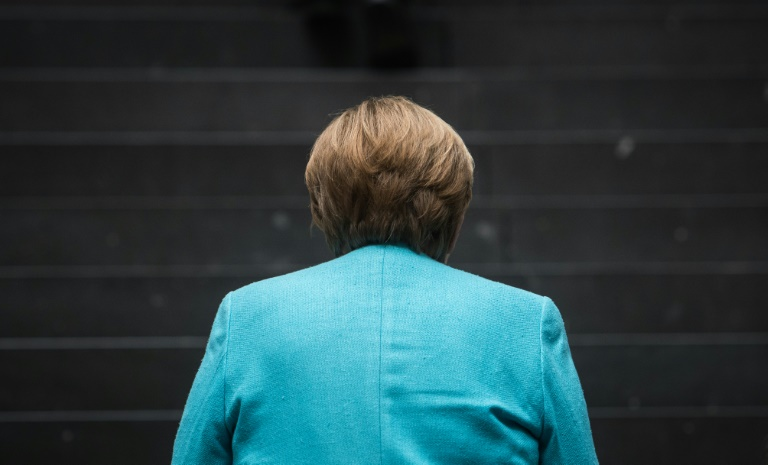 """Merkels nüchternes Fazit nach 16 Jahren: """"Die Welt ist, wie sie ist"""" (© 2021 AFP)"""