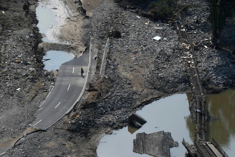 Rotes Kreuz fordert massiven Ausbau von Materialreserven für Katastrophenfälle (© 2021 AFP)