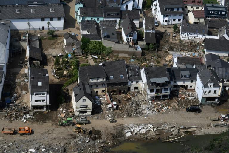 Förderbank KfW startet Hochwasser-Hilfsprogramm für Kommunen (© 2021 AFP)