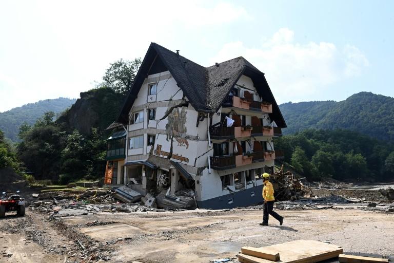 Bislang 68 von 132 Hochwassertoten in Rheinland-Pfalz eindeutig identifiziert (© 2021 AFP)