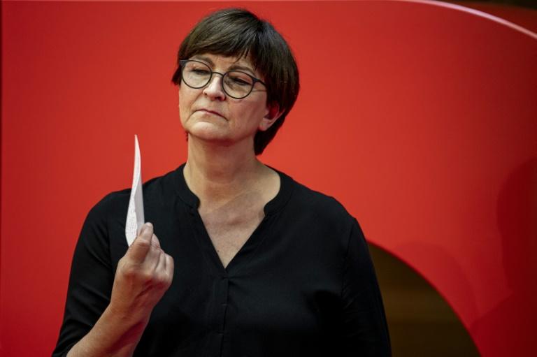 Esken will nach der Wahl SPD-Chefin bleiben (© 2021 AFP)