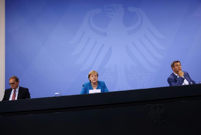 Ministerpräsidentenkonferenz beschließt neue Testpflicht für Ungeimpfte (© 2021 AFP)