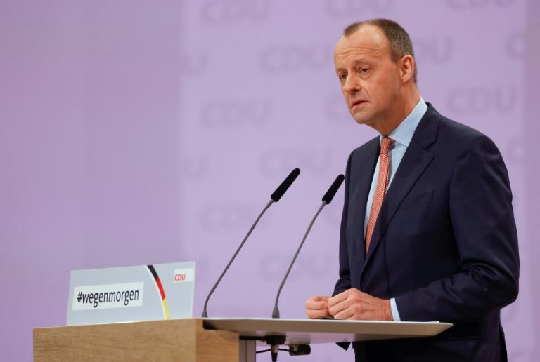 Friedrich Merz fordert kleinere Bundesregierung (© 2021 AFP)