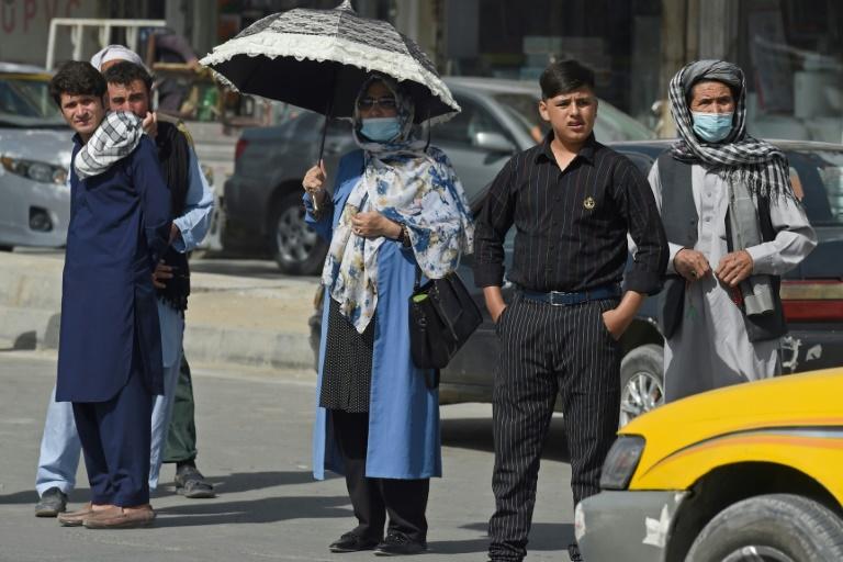 Deutsche Botschaft in Kabul verlegt Personal an Flughafen (© 2021 AFP)
