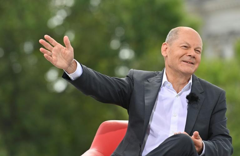 Scholz traut SPD mehr als 20 Prozent zu (© 2021 AFP)