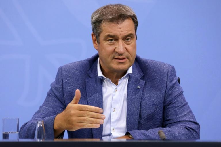 Söder warnt Union vor Machtverlust bei Bundestagswahl (© 2021 AFP)