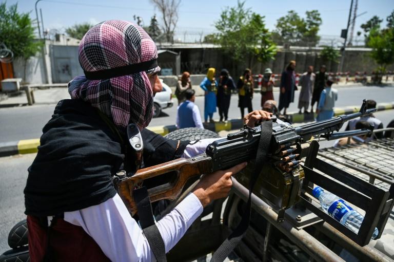 """Bundesregierung will """"so viele Ortskräfte wie möglich"""" aus Kabul ausfliegen (© 2021 AFP)"""