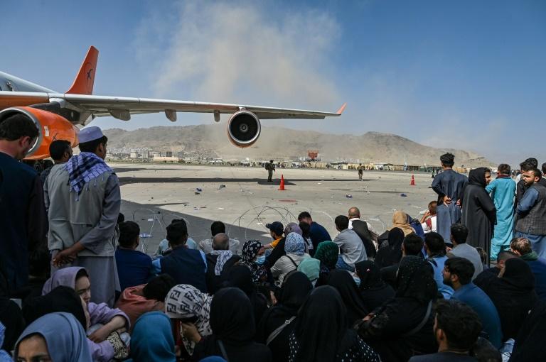Zweite Bundeswehrmaschine zur Evakuierung in Kabul gelandet (© 2021 AFP)