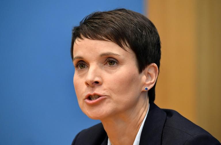 Frühere AfD-Chefin Petry erneut in Leipzig wegen Subventionsbetrugs vor Gericht (© 2021 AFP)