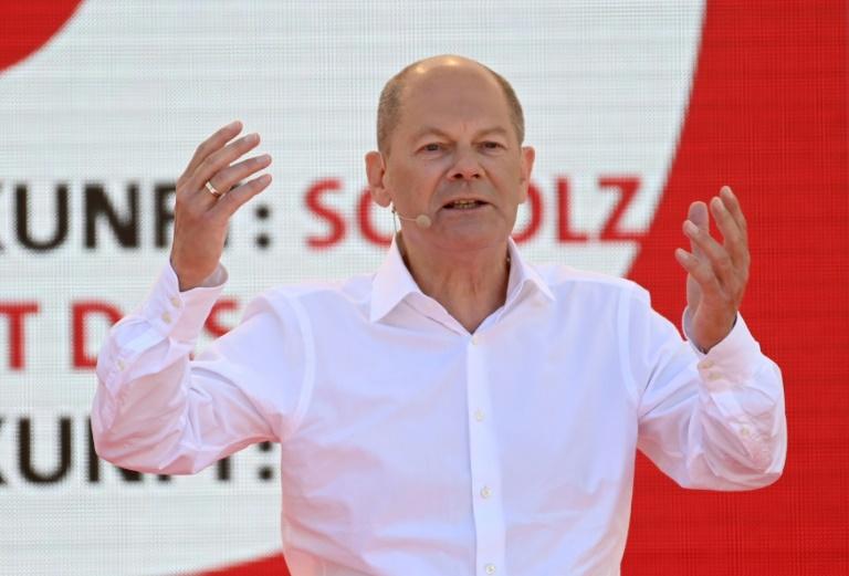 SPD überholt in Forsa-Umfrage die Grünen - Union nur noch knapp auf Platz eins (© 2021 AFP)