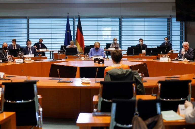 Kabinett legt Grundlage zur Einführung von Warnsystem per Handy-Textnachricht (© 2021 AFP)
