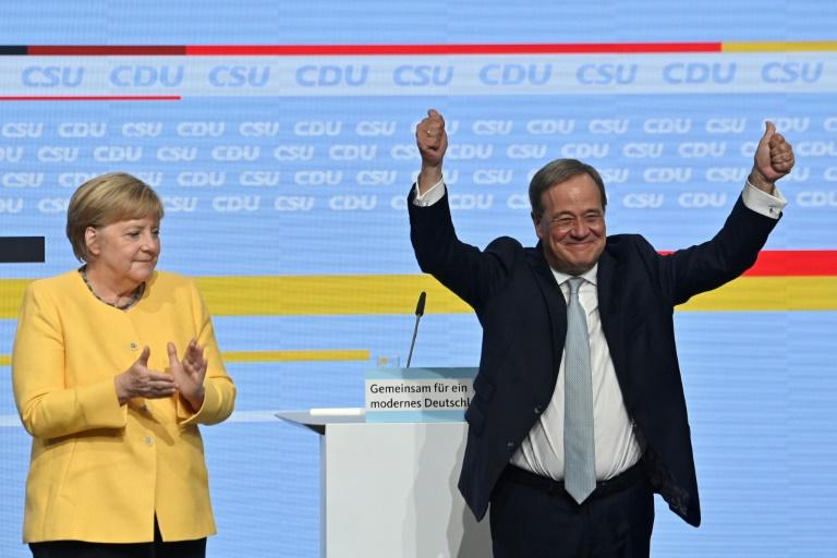 Laschet warnt vor Linksruck in deutscher Politik (© 2021 AFP)