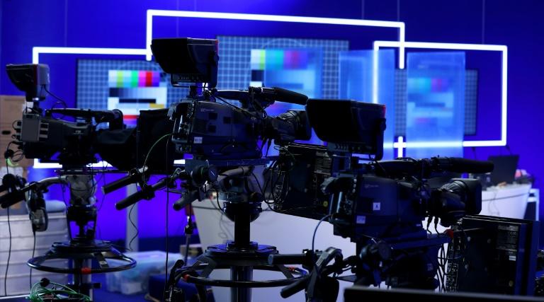 """""""Bild"""" startet gut einen Monat vor der Bundestagswahl Fernsehsender (© 2021 AFP)"""