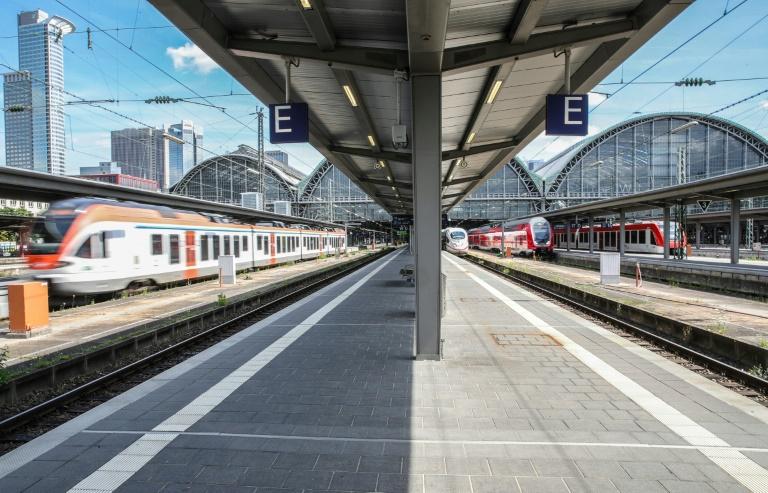 GDL beginnt erneuten Streik im Personenverkehr der Deutschen Bahn (© 2021 AFP)