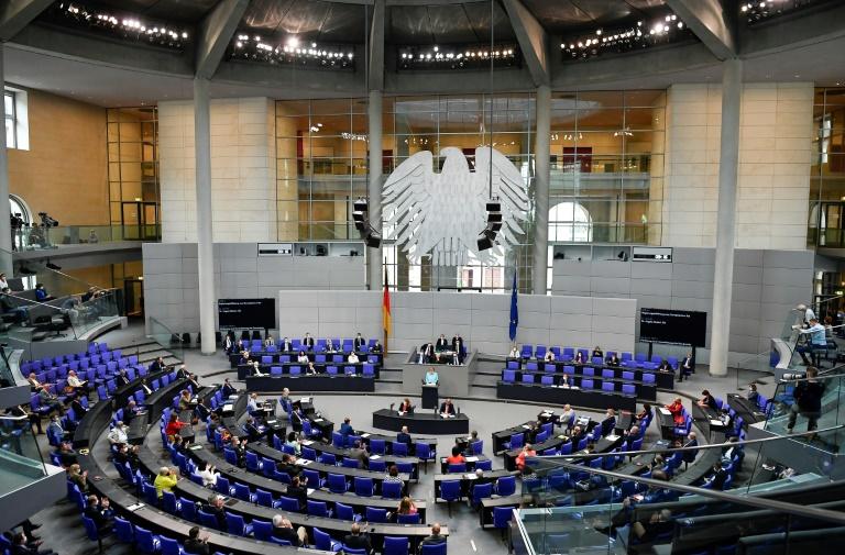 SPD-Abgeordnete Bach prangert Sexismus im Bundestag an (© 2021 AFP)