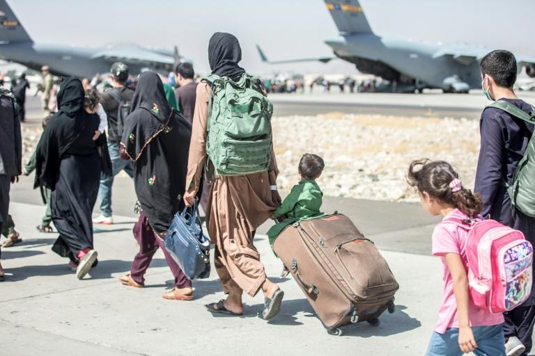 """""""Spiegel"""": Letzter Bundeswehr-Rettungsflug aus Kabul am Donnerstag (© 2021 AFP)"""
