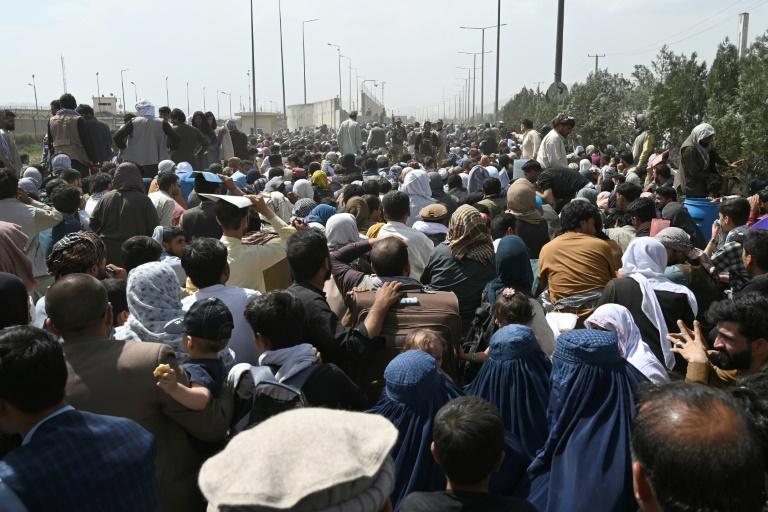 Bundesregierung will mit Taliban weiter zivile Evakuierungsaktion aushandeln (© 2021 AFP)