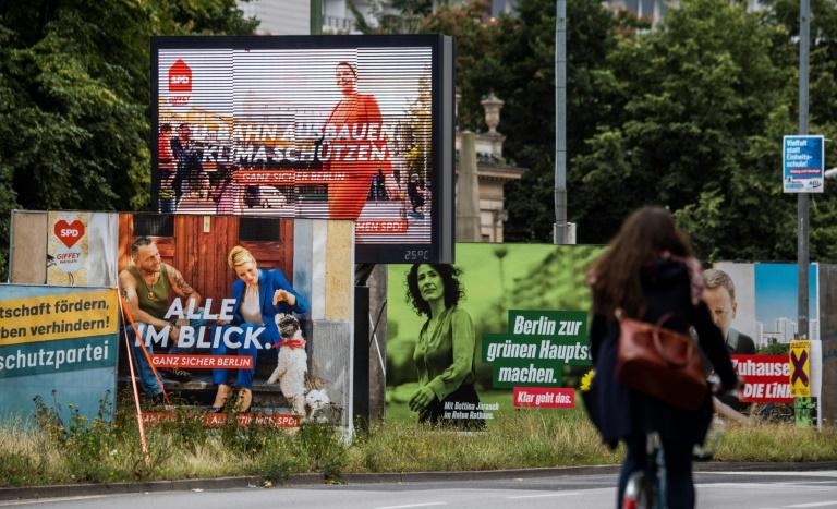 SPD vor Wahlen in Mecklenburg-Vorpommern und Berlin laut Umfragen in Führung (© 2021 AFP)