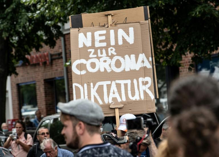 "Polizei verbietet ""Querdenken""-Demonstrationen in Berlin (© 2021 AFP)"