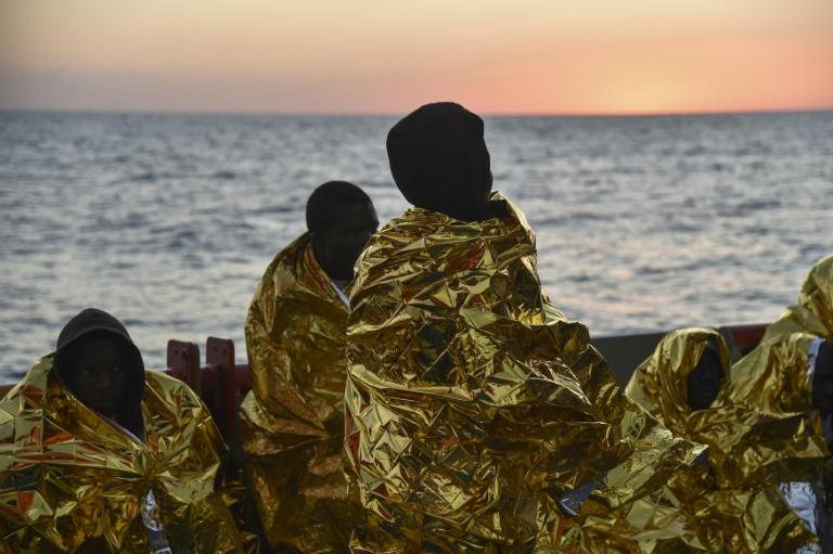 """Netzwerk hinter Notrufdienst """"Alarm Phone"""" erhält Menschenrechtspreis (© 2021 AFP)"""