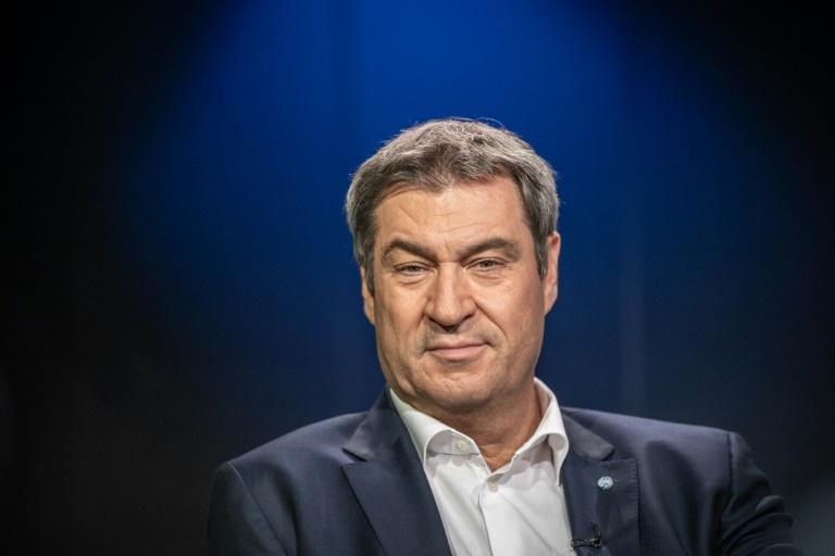 Söder will Warnung vor Linksruck in den Mittelpunkt des Wahlkampfs rücken (© 2021 AFP)