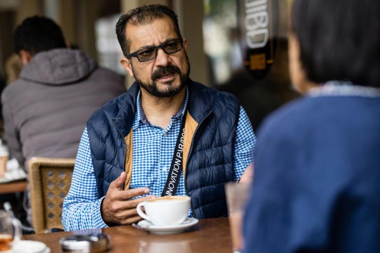 Einst Minister in Afghanistan - heute Essenslieferant in Leipzig (© 2021 AFP)