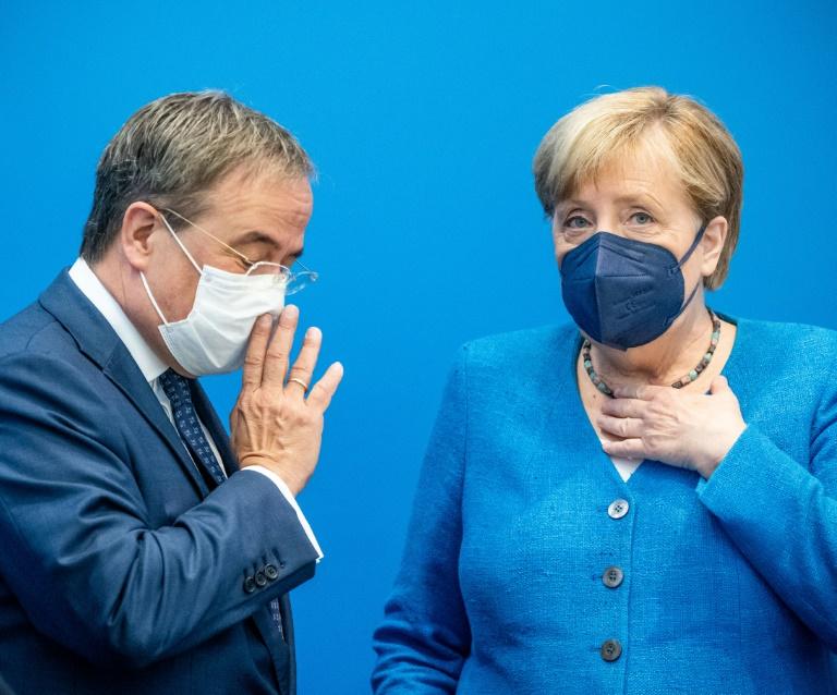 """Merkel lobt Einsatz der Bundeswehr in Kabul als """"heldenhaft"""" (© 2021 AFP)"""