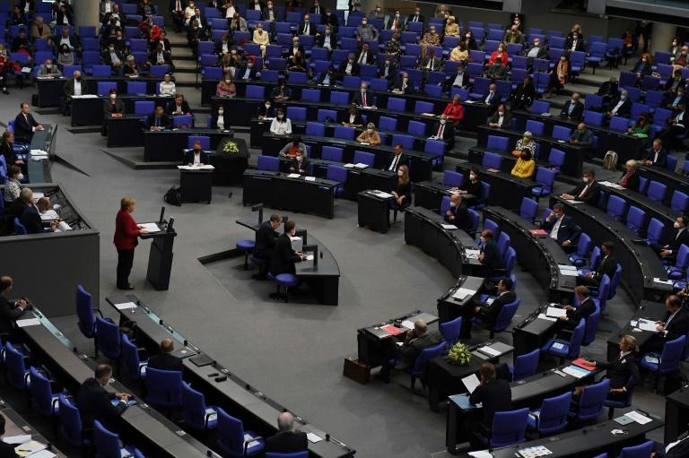 Frauenanteil unter Kandidatinnen und Kandidaten für Bundestagswahl hoch wie nie (© 2021 AFP)