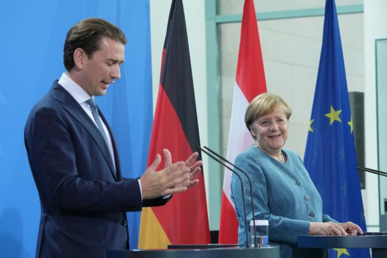 Merkel geht von bis zu 40.000 ausreisewilligen afghanischen Ortskräften aus (© 2021 AFP)