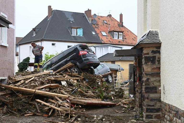 Staatsakt für rheinland-pfälzische Hochwasseropfer am Nürburgring (© 2021 AFP)