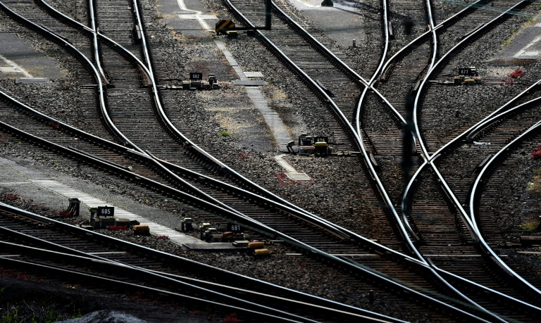 Dritter GDL-Streik bei der Bahn beginnt im Güterverkehr (© 2021 AFP)
