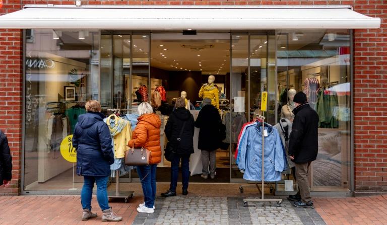 Umsatz im Einzelhandel sinkt im Juli wieder (© 2021 AFP)