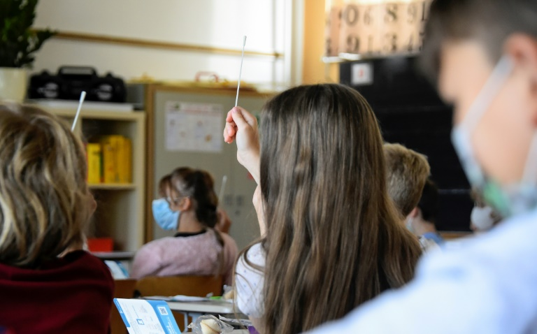 Thüringen startet mit Corona-Sicherheitspuffer in neues Schuljahr (© 2021 AFP)