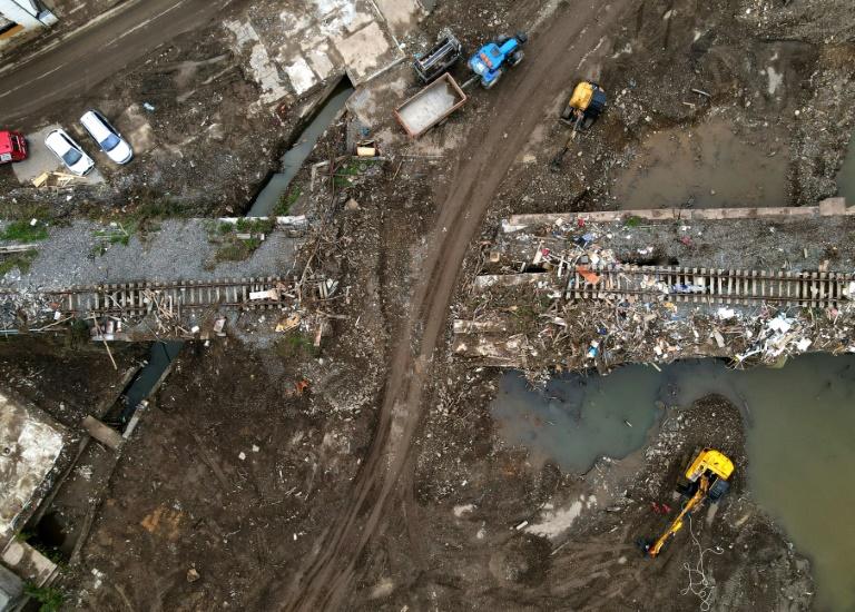 Wasserproben aus Ahr nach Flutkatastrophe nicht schwerwiegend chemisch belastet (© 2021 AFP)