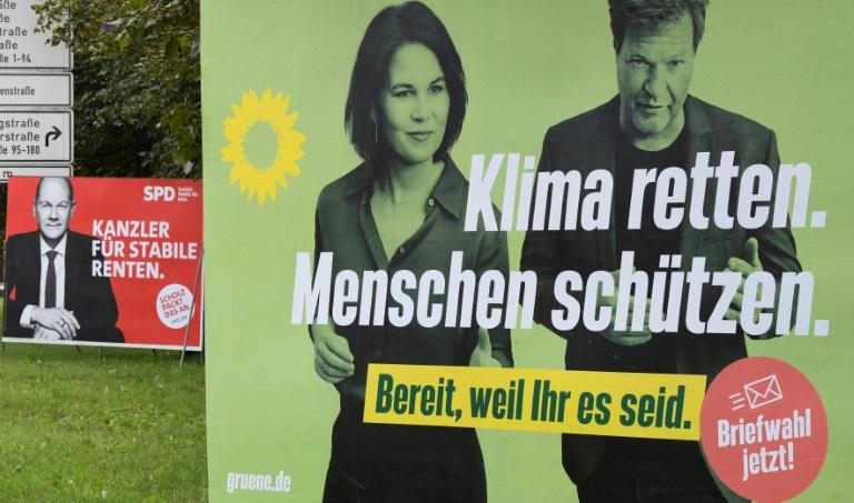 Baerbock warnt vor Deutschland-Koalition (© 2021 AFP)