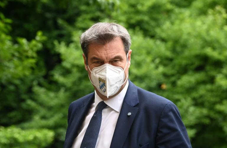Söder warnt vor verpasster Regierungsbeteiligung für Union (© 2021 AFP)