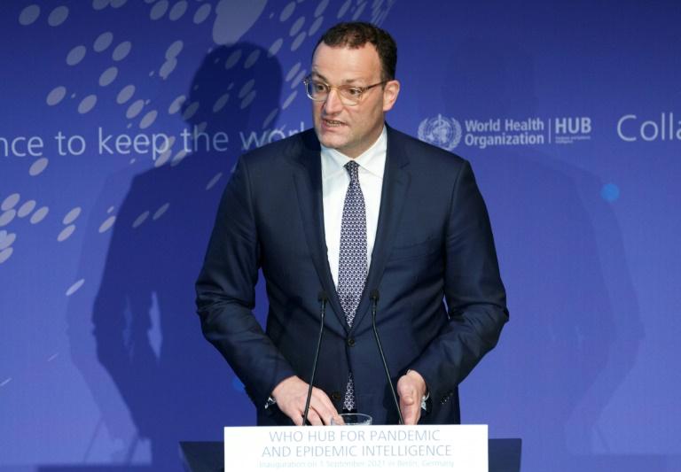 Jens Spahn wäre manchmal gern Erzieher - und künftig aber eher Kanzler (© 2021 AFP)