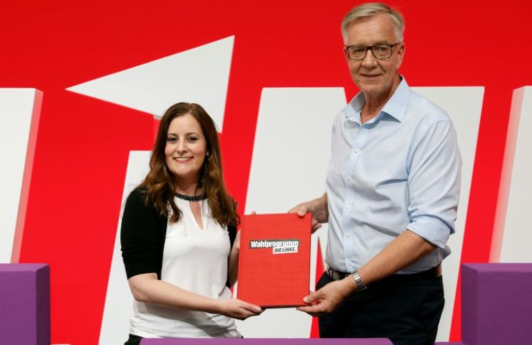 Linke wirbt mit Wahl-Sofortprogramm für Koalition mit SPD und Grünen (© 2021 AFP)