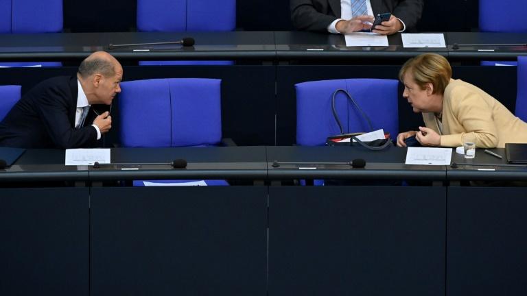 Scholz attackiert Union wegen ihrer Haltung in der Energiepolitik (© 2021 AFP)