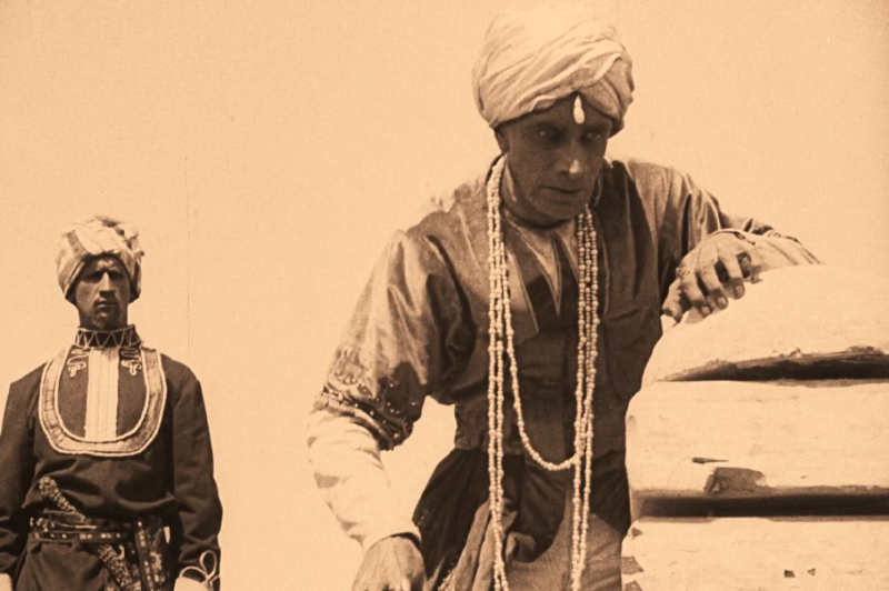 Das Indische Grabmal - Die Sendung des Yoghi. (Foto: Stadt Cuxhaven)