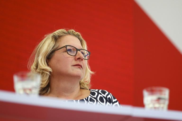 Umweltministerin schlägt Kommission für den Ausbau Erneuerbarer Energien vor (© 2021 AFP)