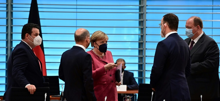 Bundeskabinett verabschiedet neue Strategie zur Cyber-Sicherheit (© 2021 AFP)