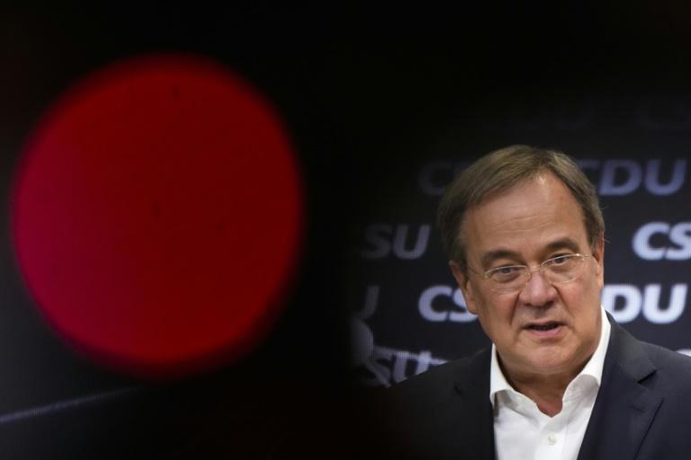 """Dobrindt macht vor nächstem TV-""""Triell"""" Druck auf Laschet (© 2021 AFP)"""
